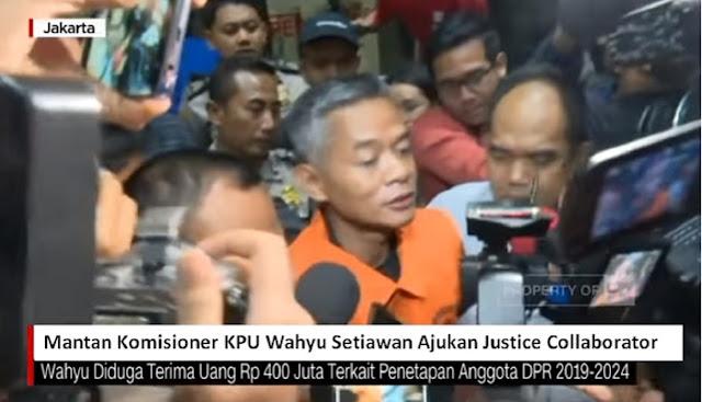 Mantan Komisioner KPU Wahyu Setiawan Ajukan Justice Collaborator Untuk Bongkar Semua Yang Terlibat