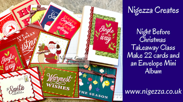 Nigezza Creates with Stampin' Up! Night before Christmas envelope mini