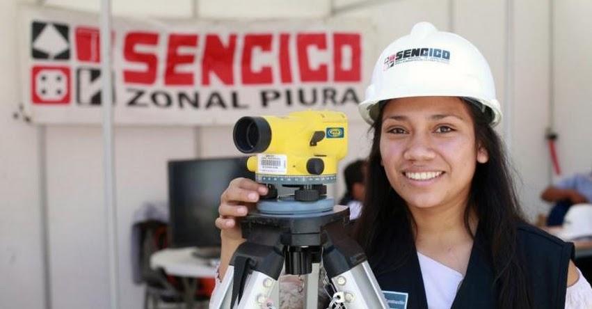 SENCICO: Más de 1,500 postulantes alcanzaron vacantes en carreras de construcción en el examen de admisión 2021 - II