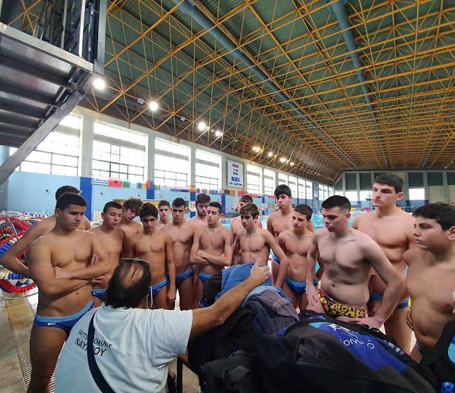 Ο στόχος επετεύχθη για τον Ναυτικό Όμιλο Ναυπλίου στο πανελλήνιο πρωτάθλημα Νέων Ανδρών