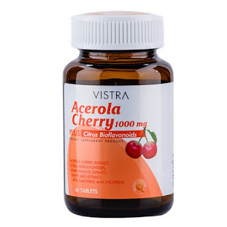 วิตามินซี Vistra Acerola Cherry 1000mg PLUS Citrus Bioflavonoids