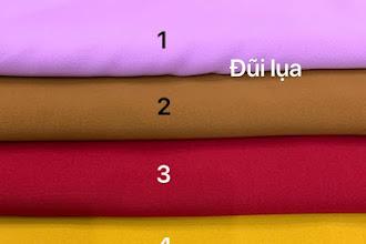 Vải Đũi Lụa Màu Trơn - MSP duiluamau001
