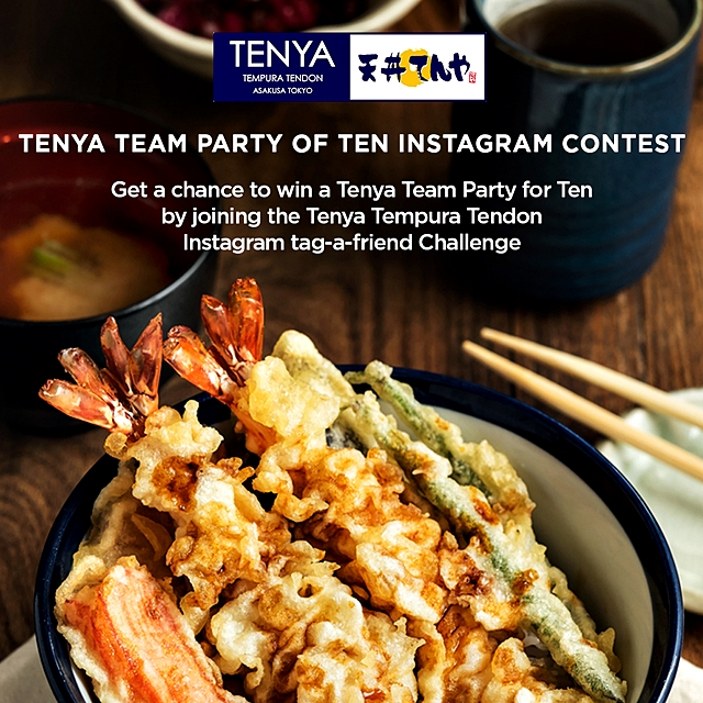 Tenya and YedyLicious Giveaway