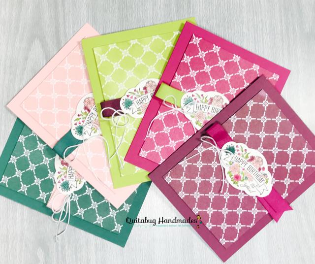 Quitabug Handmades Label Me Pretty Birthday Cards