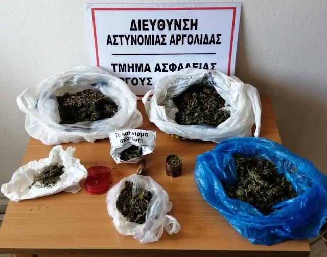 Συνελήφθη 49χρονος για ναρκωτικά στην Αργολίδα