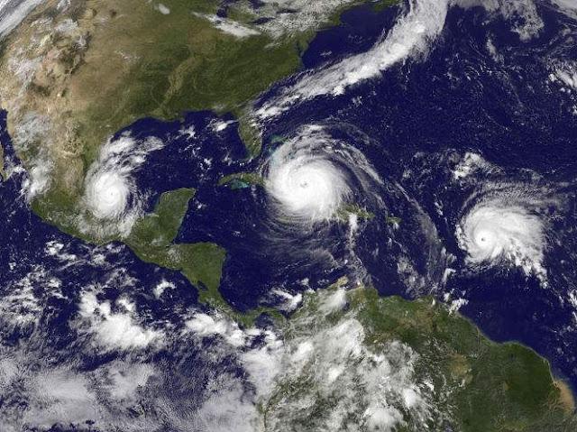Cicloni nell'Oceano Atlantico