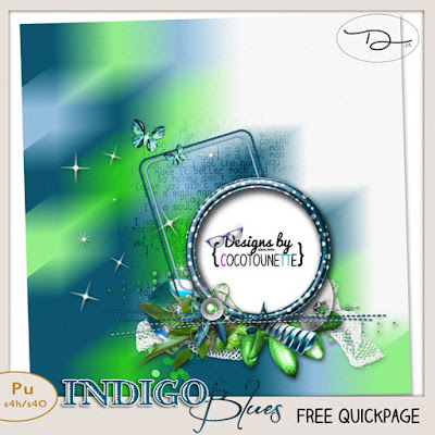 Collection Indigo Blues + freebies
