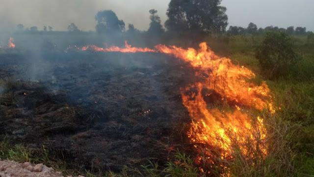 Asap Karhutla Mulai Menyerang Kota Palembang
