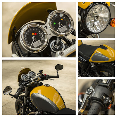 2016 Triumph Street Cup all specs image