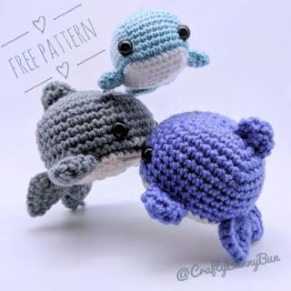cute shark crochet pattern