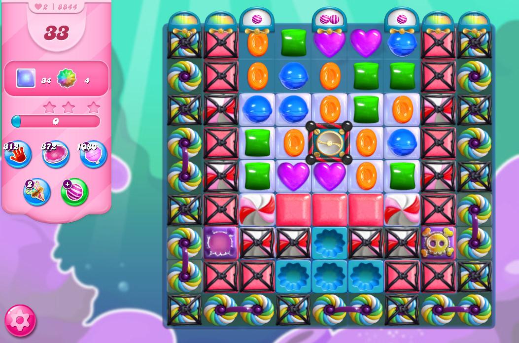 Candy Crush Saga level 8844