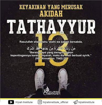 salam jumaat, Apakah Tathayyur, contoh Tathayyur, kenapa Tathayyur syirik