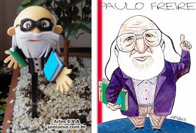 Homenagem a Paulo Freire em E.V.A