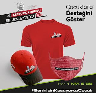 Atatürk koşusu, koşu, Hakan Çolak, hakancolakcom