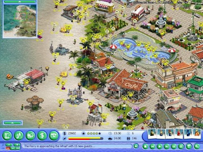 模擬渡假村(海濱嘉年華)+攻略+密技下載,懷舊的模擬經營夏日清涼遊戲!