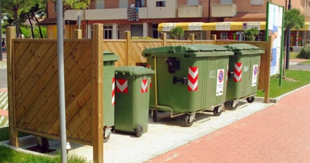 Milazzo istituzione stalli di sosta per isole ecologiche for Papino arredo
