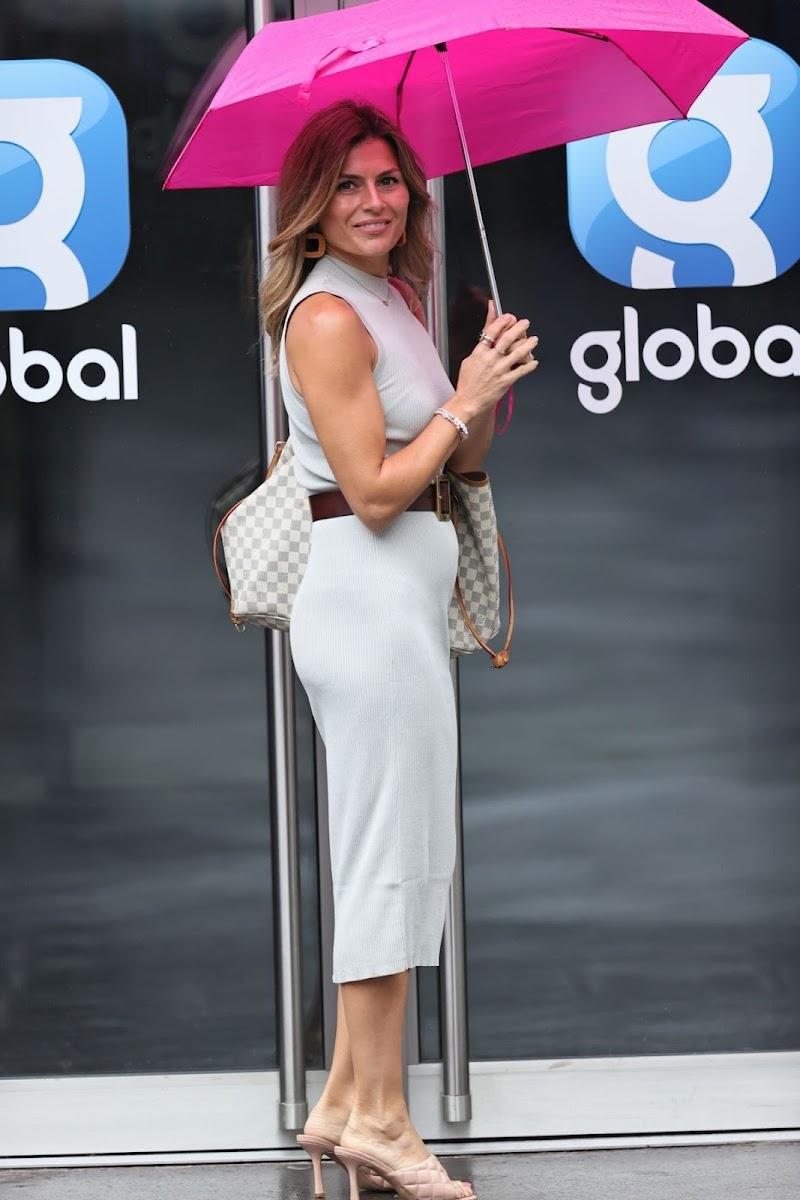 Zoe Hardman Snapped at Global Radio in London 14 Aug -2020