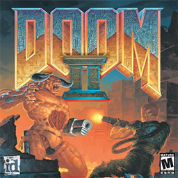 Doom II PC box art