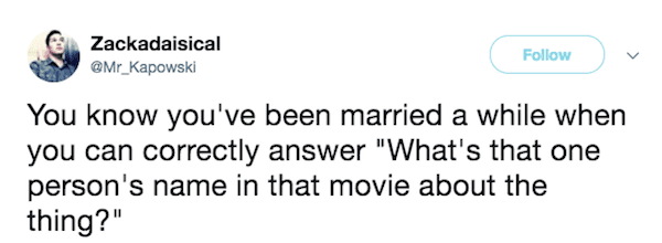 22 Hilarious Posts Married People Will Totally Relate To