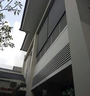 Proyek Suntex Blind untuk balkon