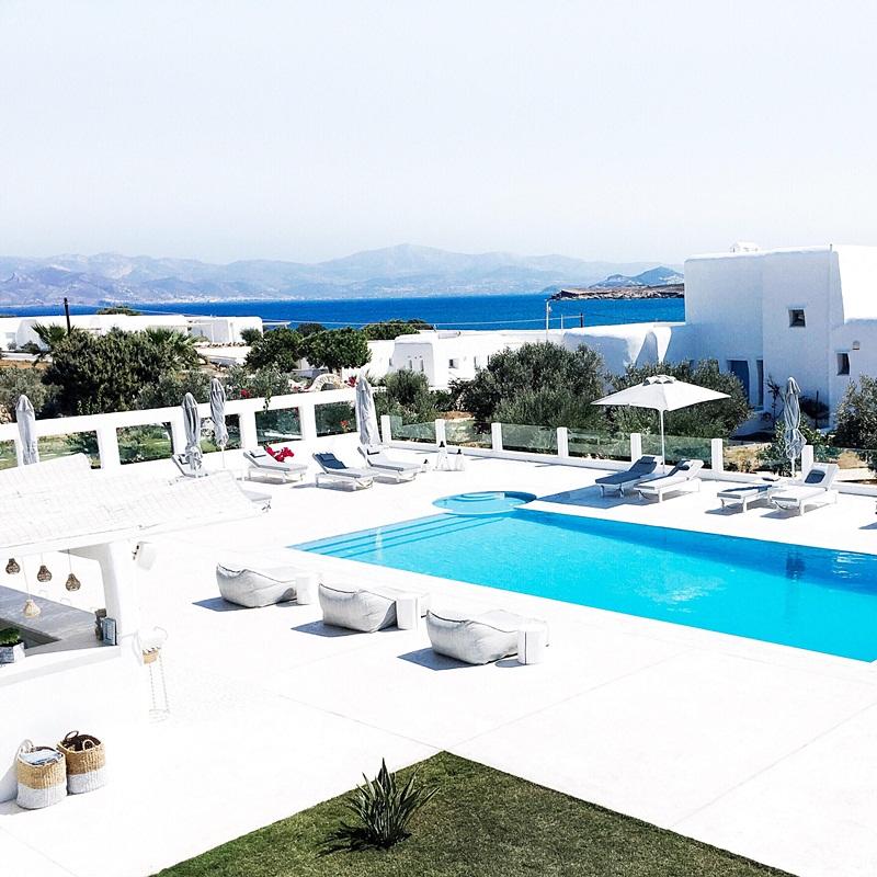 luxury White Dunes hotel Naoussa Paros island