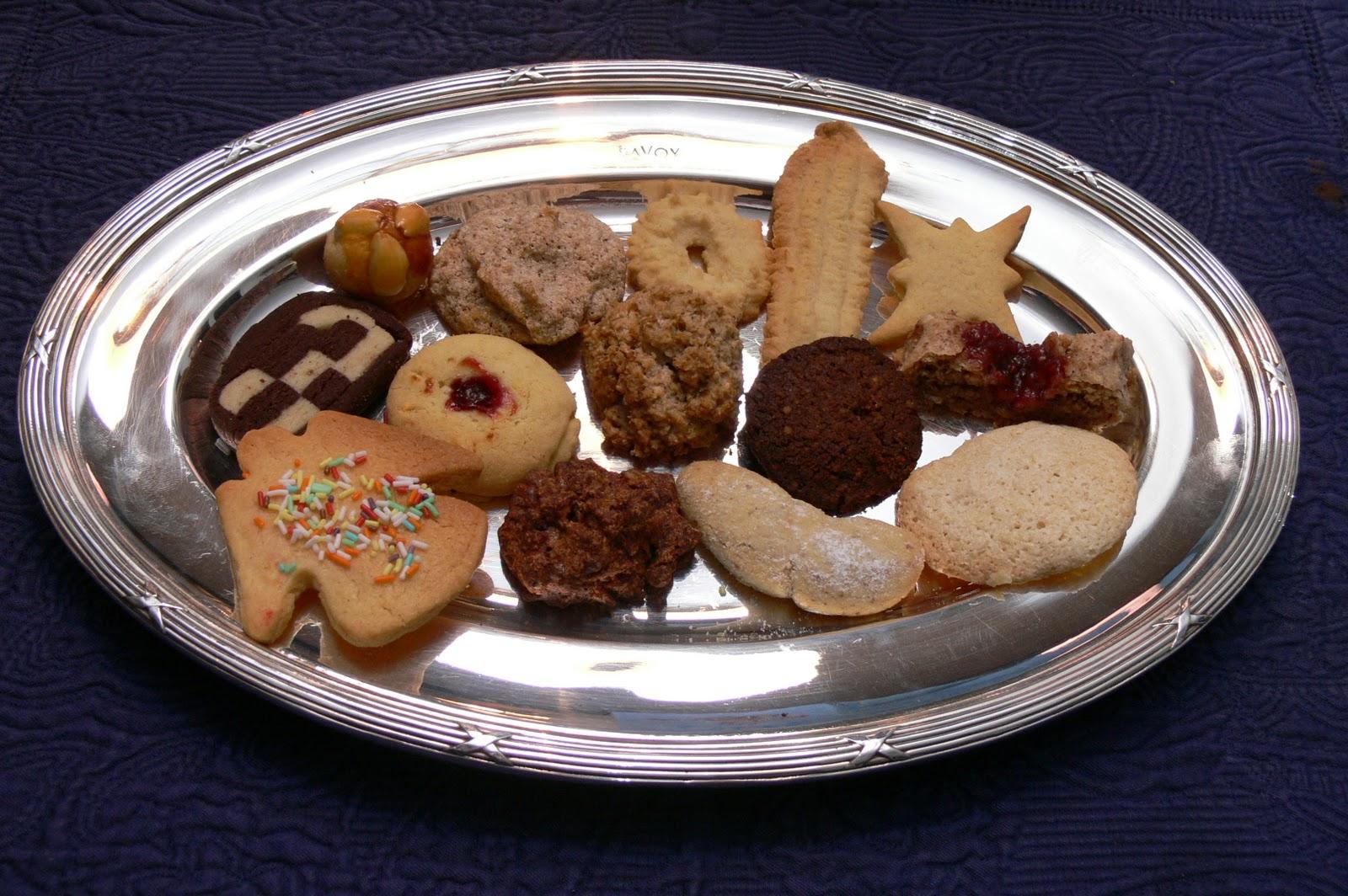 Weihnachtsplätzchen Schokoladenplätzchen.Oinophilist Weihnachtsplätzchen 2011