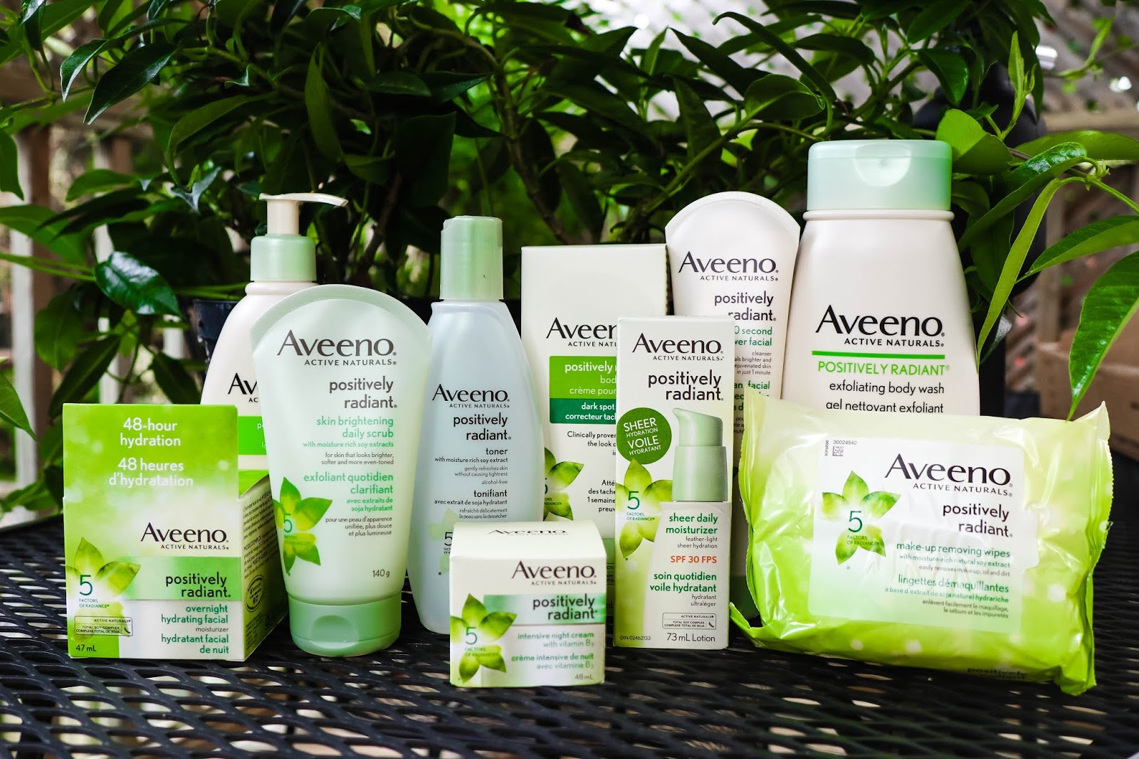Aveeno Positively Radiant Skincare Drugstore Line Review