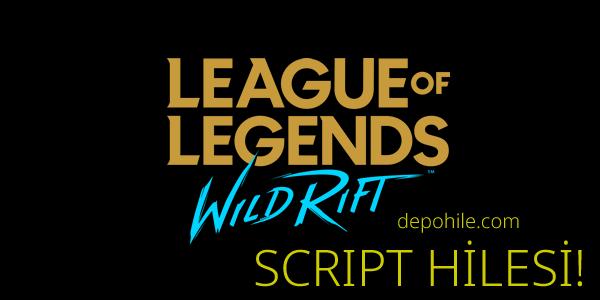 League of Legends Wild Rift Script Map, Radar Hile 2021 Android