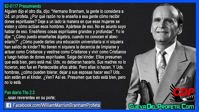Aún están en el kínder - William Branham en Español