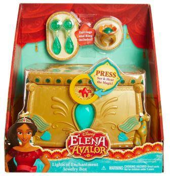 Elena of Avalor Lights of Enchantment Jewelry Box