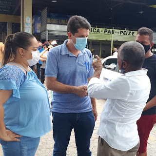 Governador e vice declara apoio a Zé Cocá em Jequié