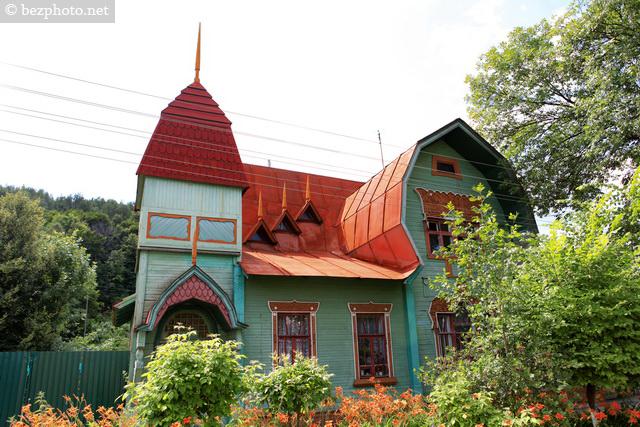 деревянные дома модерн