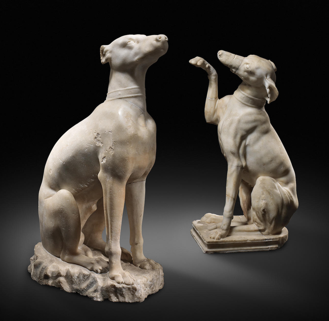 Celtic hounds. Roman, 2nd Century