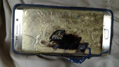 nguyên nhân Samsung Galaxy S6 Edge+ bị cháy khi đang sạc