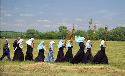 Agama mirip Islam, Kristen ortodok syiria juga sholat dan haji