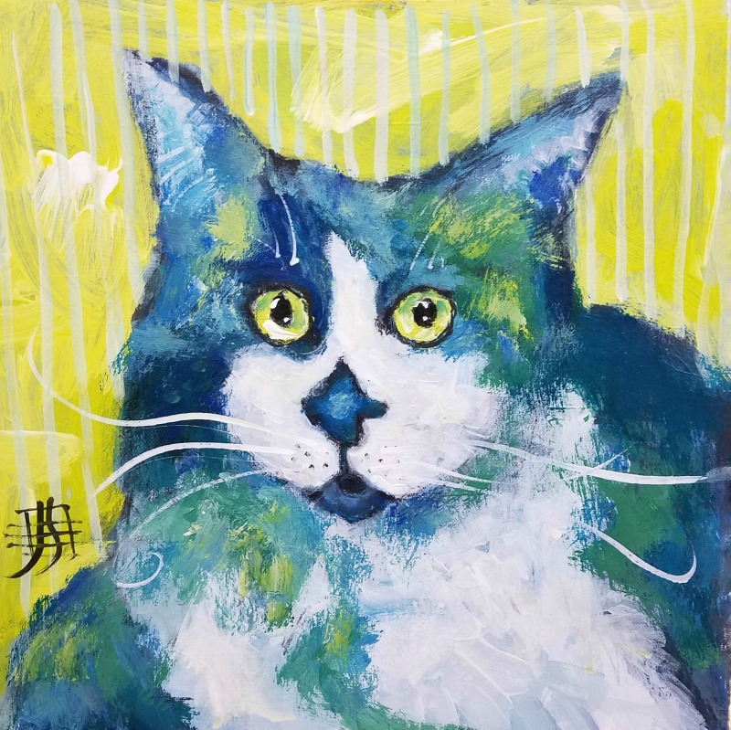 CAT #19 by Joanie Springer 30 CATs in 30 Days