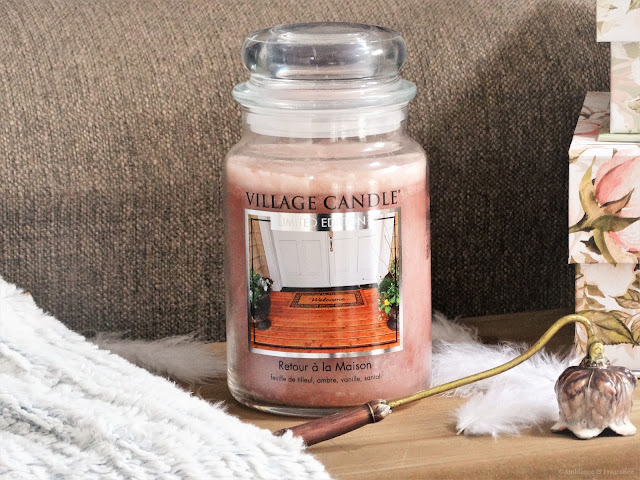 Avis Welcome Home (Retour à la Maison) de Village Candle - Blog Bougie - Blog Parfum