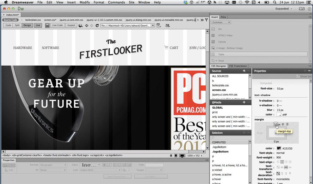 Adobe dreamweaver hack