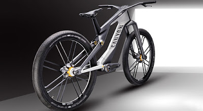 Canyon thinks of electric bikes with two engines: it is for the city but seems designed for the descent