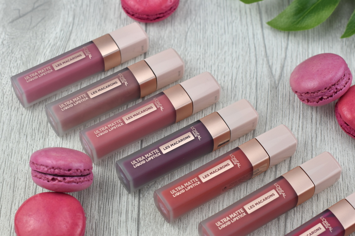 L'Oréal Infaillible Ultra Matte Liquid Lipsticks Les Macarons alle Farben Review Swatches