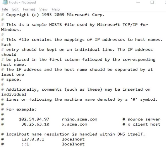 برنامج Notepad