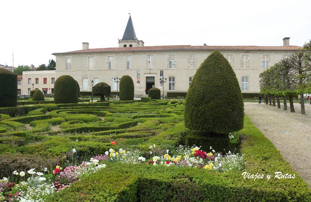 Jardín de l'évêché de Castres
