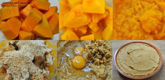 recette gateau courge butternut
