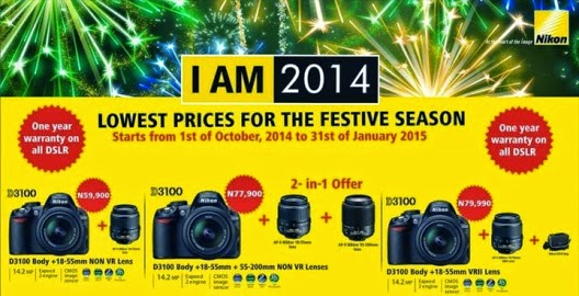 Nikon announces end of year promotions, mall tours & free