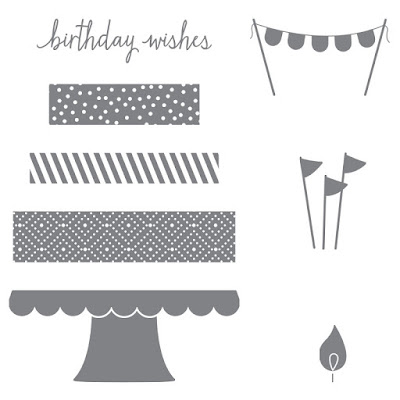 Build a Birthday, Stampin' Up!