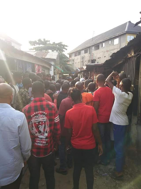 Photos: Man slaughters pregnant girlfriend in Rivers State, buries her body inside his apartment