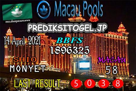 Prediksi Wangsit Togel Macau Rabu 14 April 2021