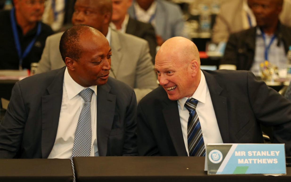 SuperSport United CEO Stanley Matthews