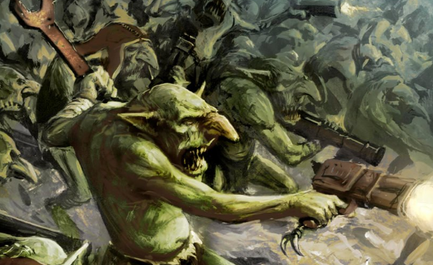 Running a Gretchin Army! Saga of the Beast Preview