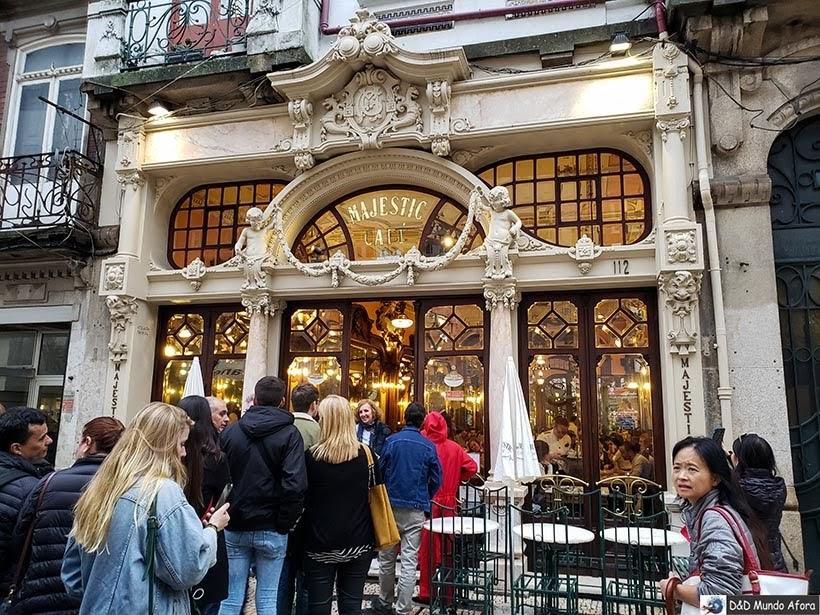 Café Majestic - O que fazer no Porto, Portugal